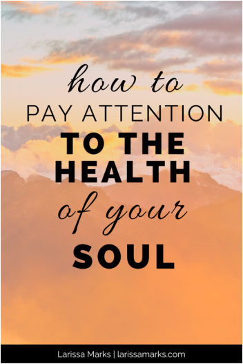 How to Pay Attention to the Health of